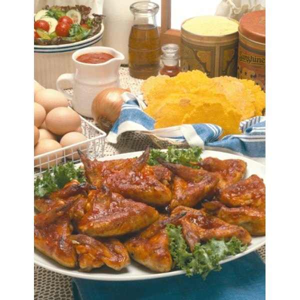 Serve soy sauce-marinated chicken wings as an appetizer.
