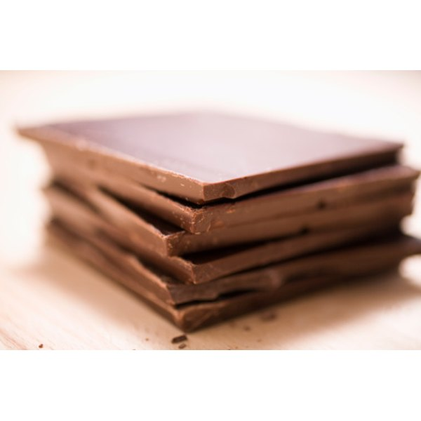 The majority of popular chocolates are high in calories, with around half from fat.