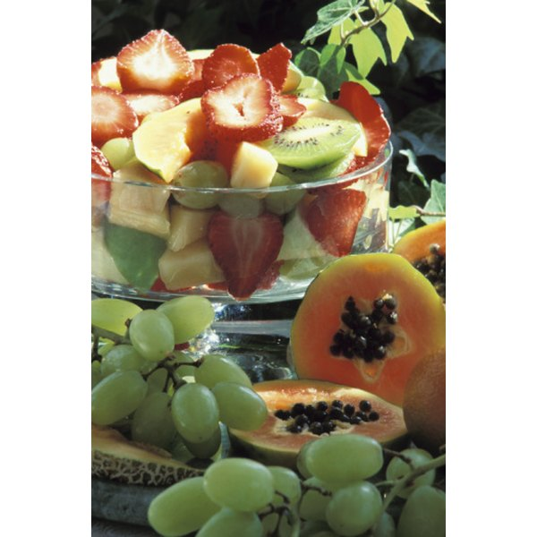 Papaya is a great addition to fruit salad.