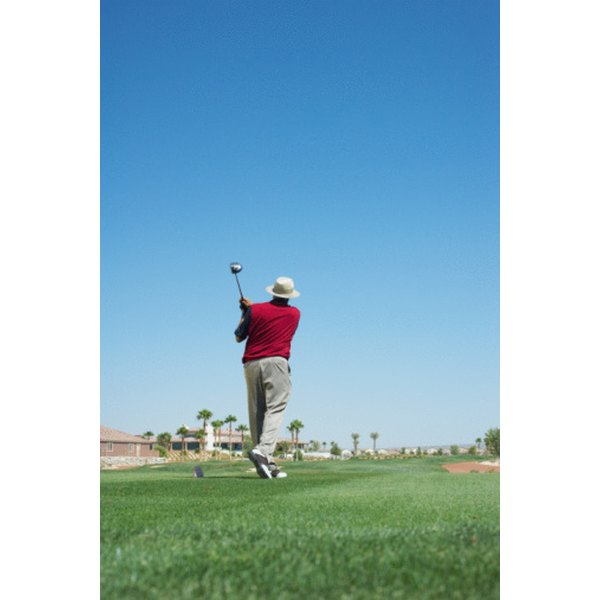Feet are key to proper weight distribution in the golf swing.