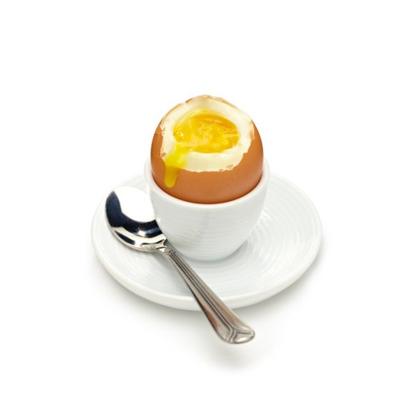 A soft diet may include soft boiled eggs.