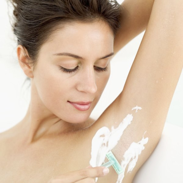 Shaving is one way to remove unwanted underarm hair.