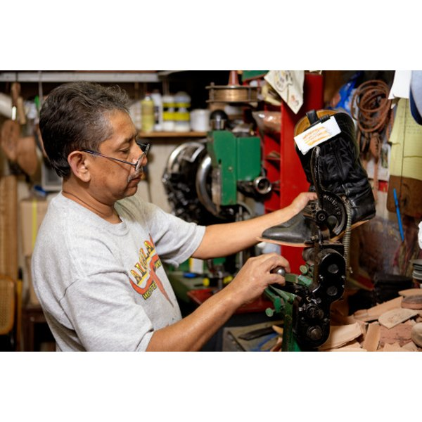 Simple shoe repair can be done at home, however, heavy repair should be done by professionals.