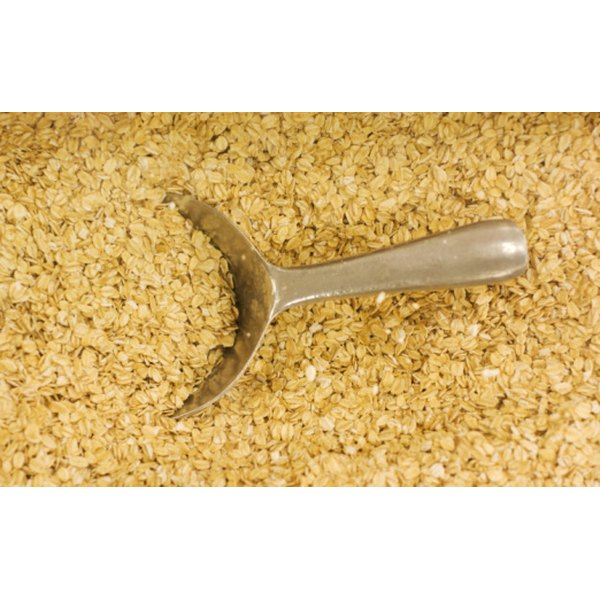 Quick oats and old fashioned oats are both types of rolled oats.