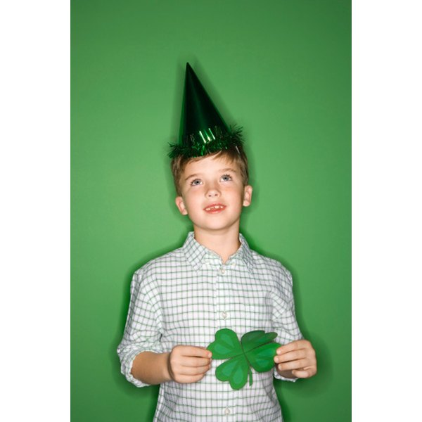 Children in your youth group can celebrate St. Patrick's Day with holiday-theme games.
