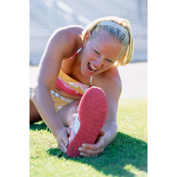 Sprains, strains and other overuse injuries are risks of overtraining.