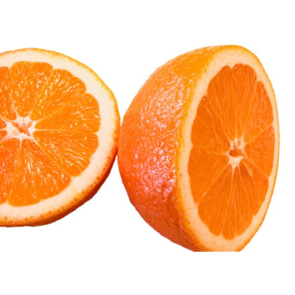 Oranges are a good source of vitamin C.