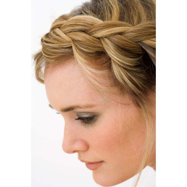 Basic braids can be used to form several hairstyles.