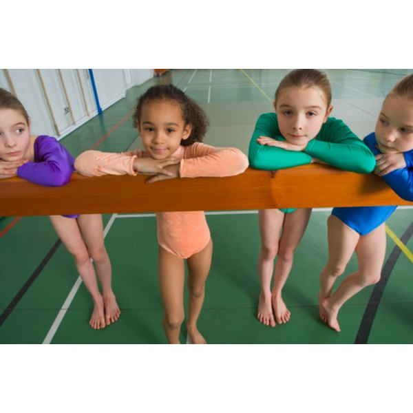 Balance beam is one of the four events girls perform in gymnastics.