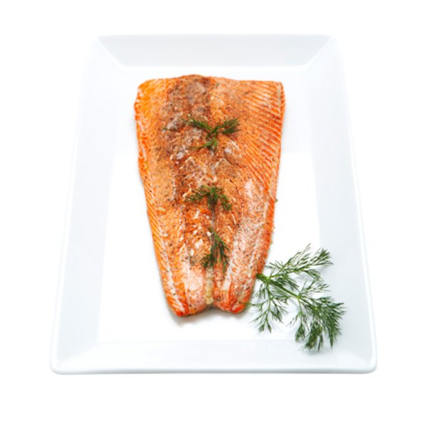 Farmed Atlantic and wild Pacific salmon look the same but flavors differ.