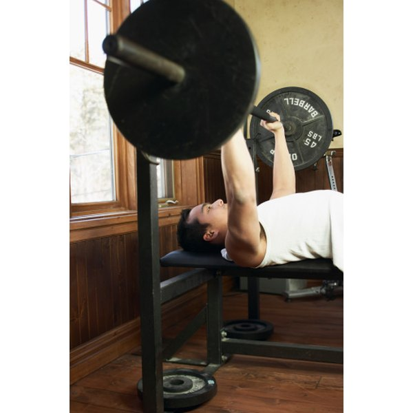 The bench press is one of the three powerlifts.