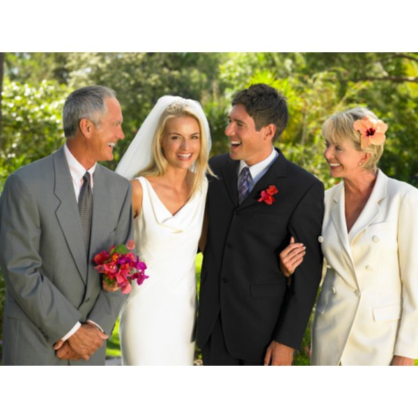 Weddings are exciting for parents of both the bride and groom.