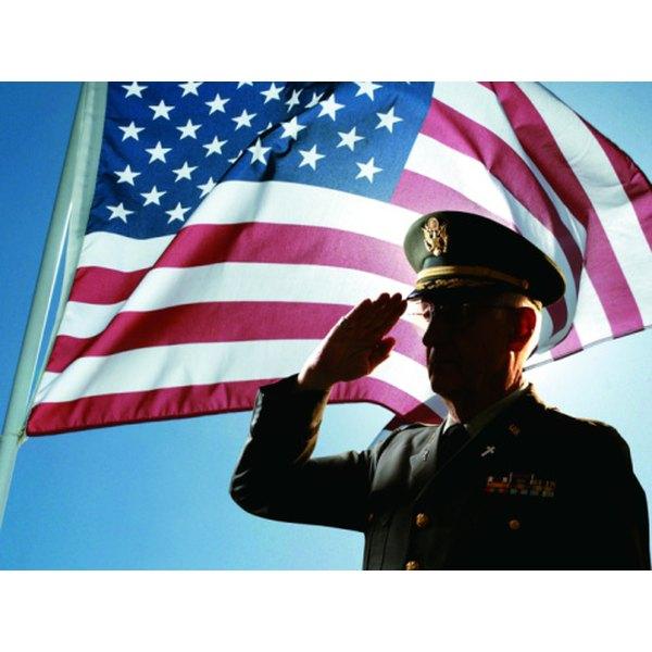 Military Flag Pole Ornament Etiquette