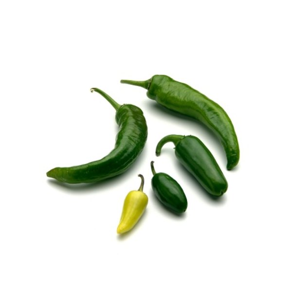 The hottest jalapenos look dark green.