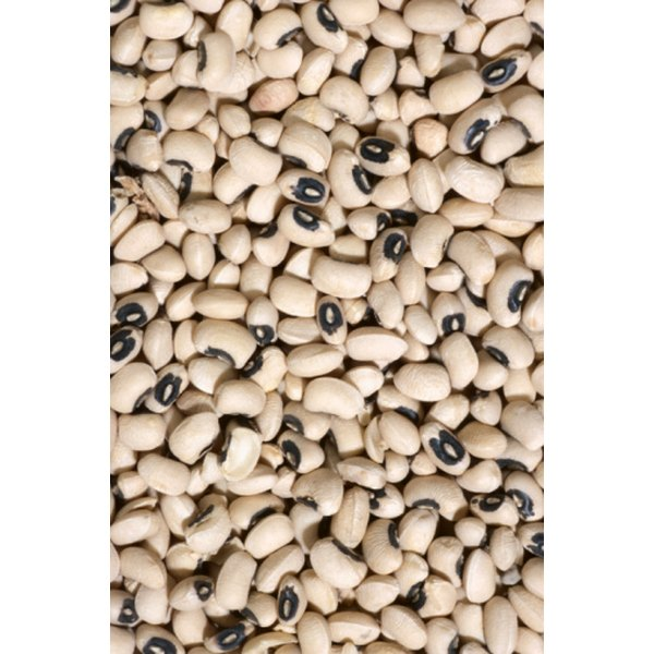 Black-eyed peas are often eaten on New Year's Day for good luck.