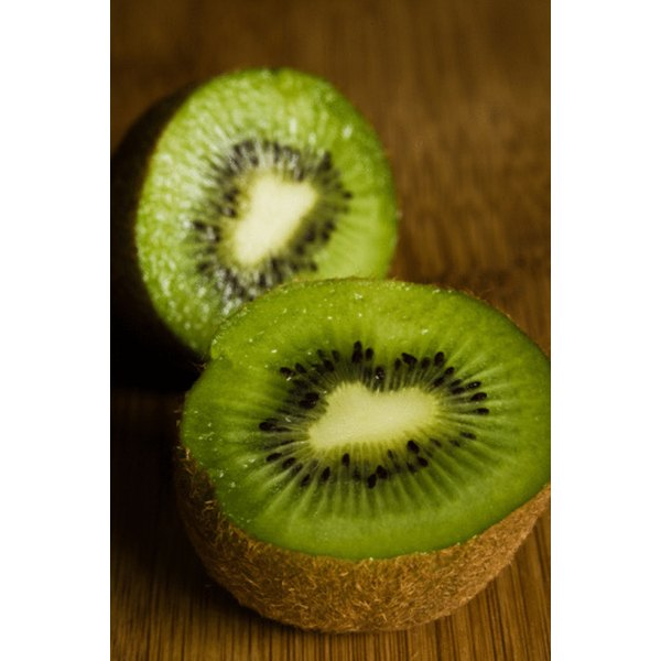 Kiwis are high in vitamins and minerals.