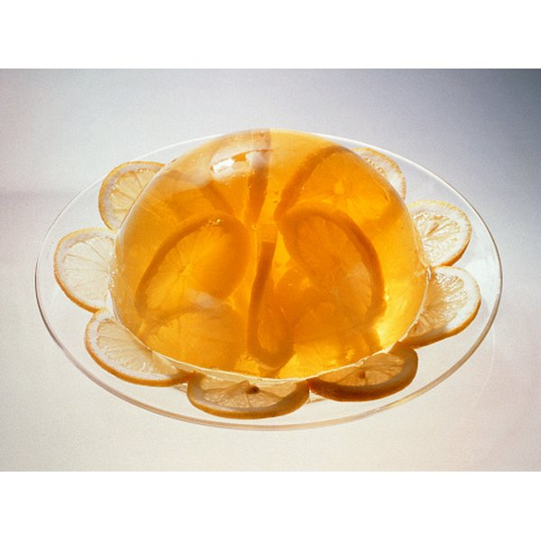 Molded desserts can be made with agar instead of gelatin.