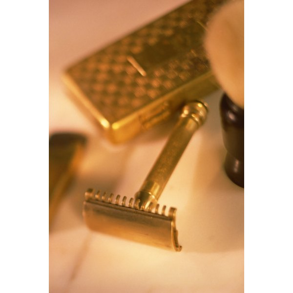 The classic safety razor still gives a great shave.