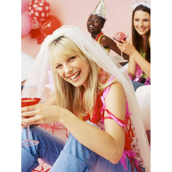 An open house bridal shower is a great option for a bride with many friends and family.