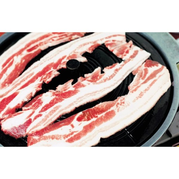 Bacon is one example of a salt-cured meat.