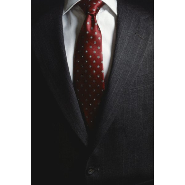 Your necktie style should match the clothes you wear.