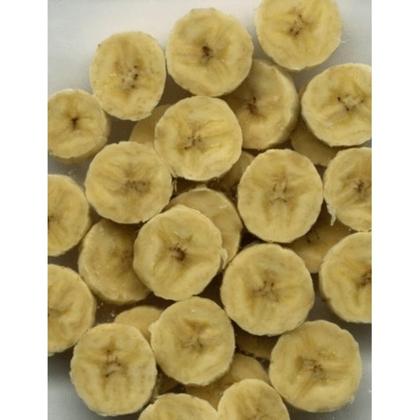 One cup of mashed bananas may substitute for 1 cup of vegetable oil.
