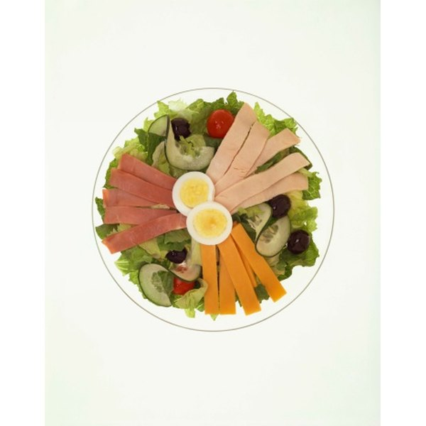 Chef's salad includes a combination of ingredients.