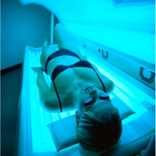 Natural and artificial tanning can lead to dark spots on the skin.
