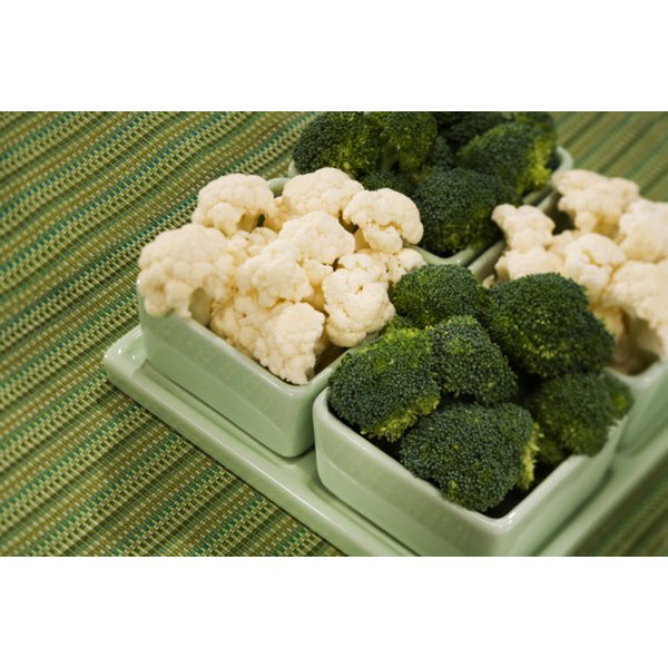 Some vegetables, like broccoli, may affect a woman's hormone levels.
