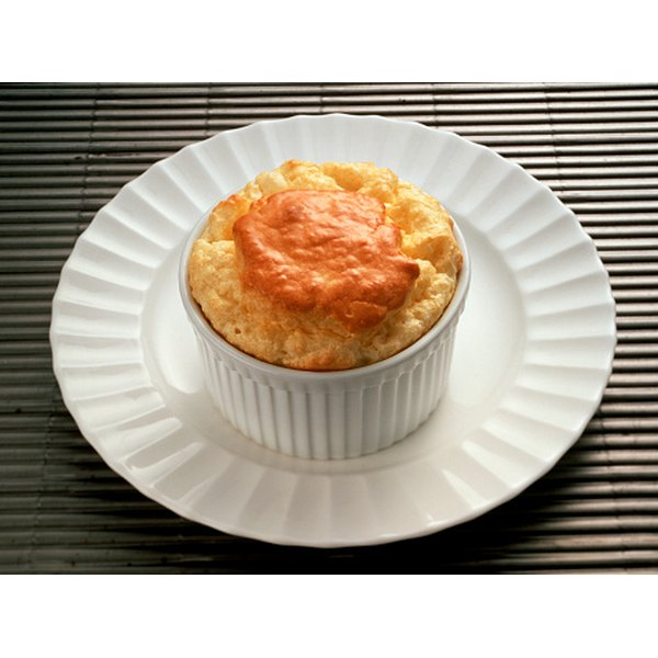 All souffles will fall, so serve them hot out of the oven.