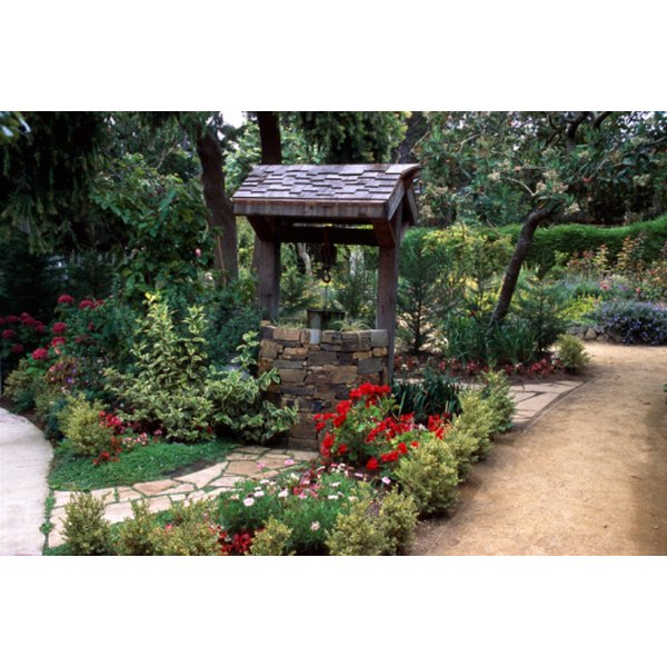 Create a wishing well to celebrate an upcoming marriage.