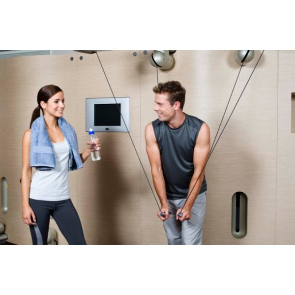 A gym membership keeps the recent graduate fit and healthy.