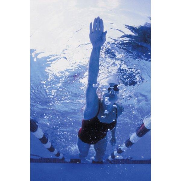 Swimming increases an athlete's need for calories.