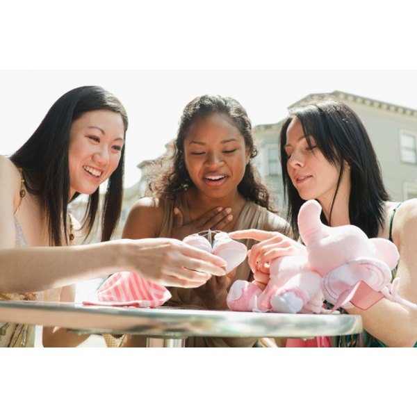 Baby showers help celebrate motherhood and a new life.