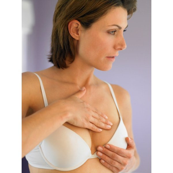 Breast self exams can help to prevent dangers surrounding bumps on the outside of the breast.