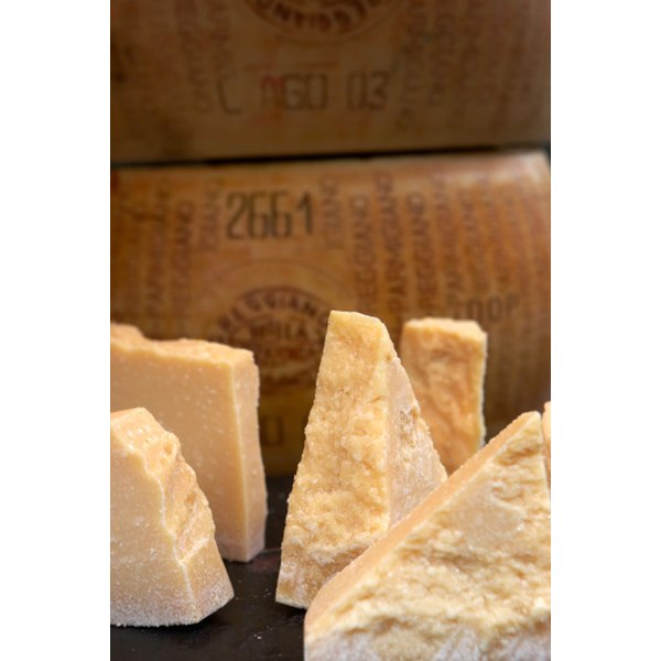 Authentic Parmigiano Reggiano is only made in Italy.