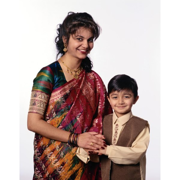 how to make a sari for kids our everyday life