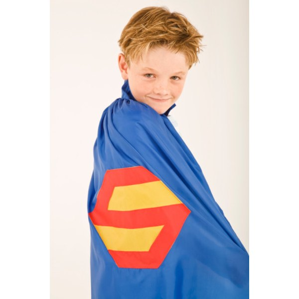 You can make a simple cape for any costume.