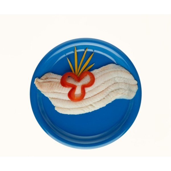 Arrowtooth flounder is a mild-tasting white fish.
