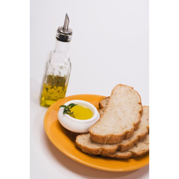 Hemp oil's nutty flavor compliments breads for dipping.