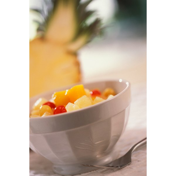 Canned fruit is a convenient way to enjoy the flavor and nutrients of fruit year round.