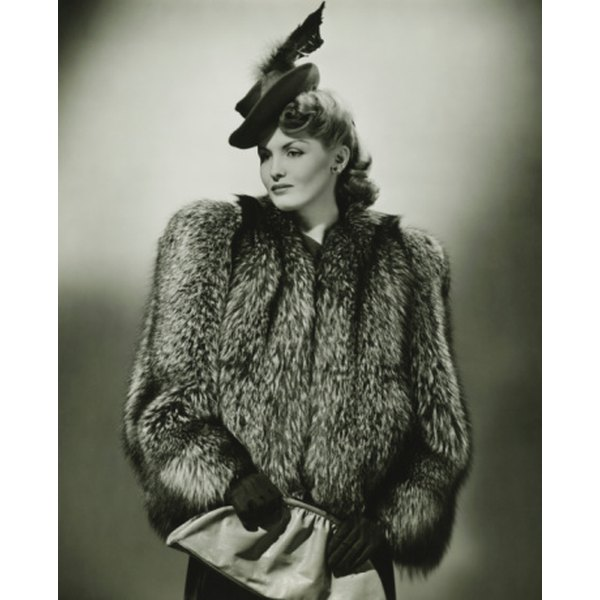 Fur was very popular in the 19th and 20th centuries.