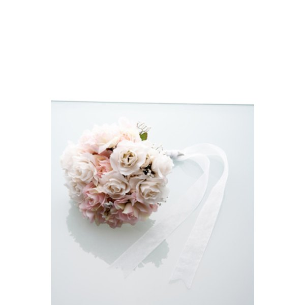 Make your wedding bouquet a personal creation.