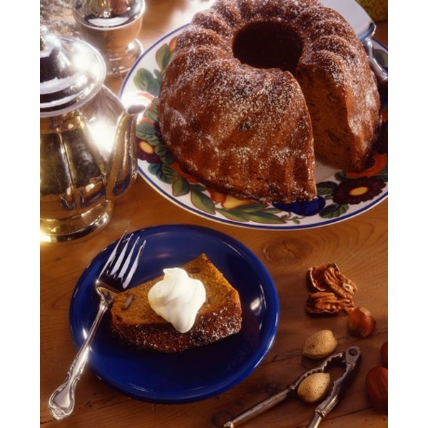 A Bundt cake provides a lovely presentation with minimal work.