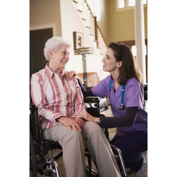 Seniors in a nursing home often enjoy getting out a bit.