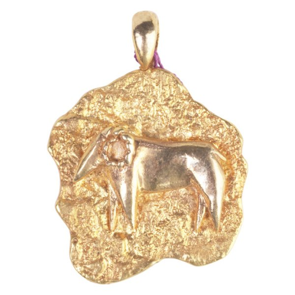 The zodiac sign Aries is symbolized by the ram.