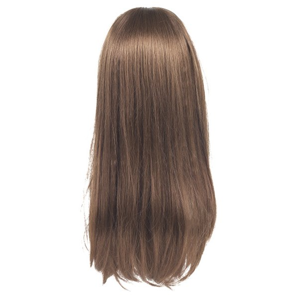 A well-blended U-part wig is an undetectable hair piece.