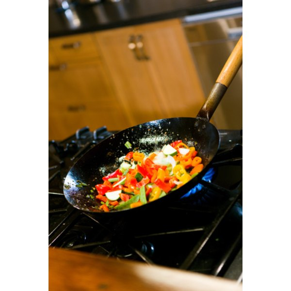 Saute in a large, flat-bottomed skillet for best results.