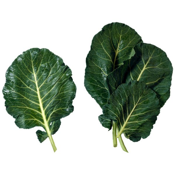Collard greens are tasty and healthy.