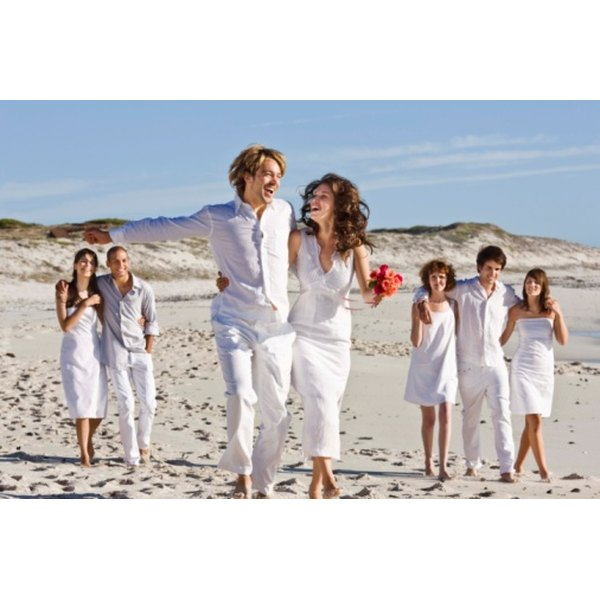 Even Formal Beach Weddings Have Casual Elements